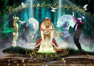 diner spectacle carnaval de venise flute enchantee
