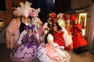 Historic costume photoshoot venice Italy photo