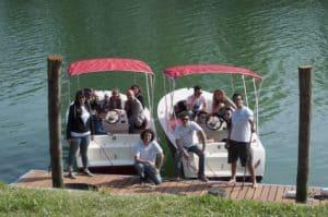 Noleggio barche elettriche Piave