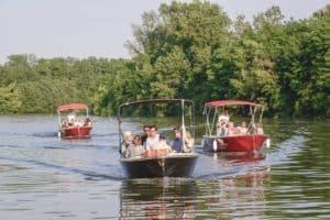 naviga il parco fluviale a san dona di piave