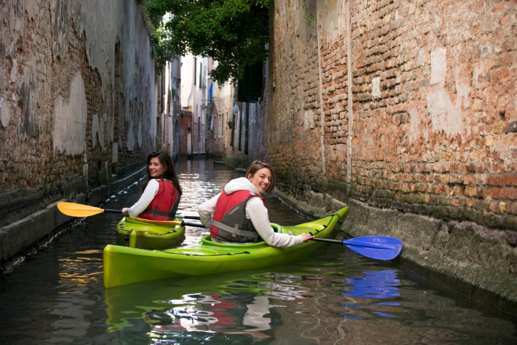 Kayak in Venice