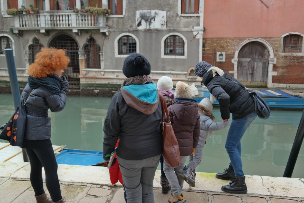 Venice with children