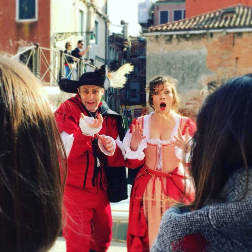 Interactive Theatre: play a part in Venice history!