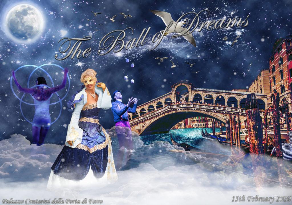Venetian costume for ball of dreams