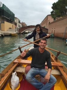 Rowing Venice photo