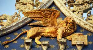 Lion St Marks Basilica photo