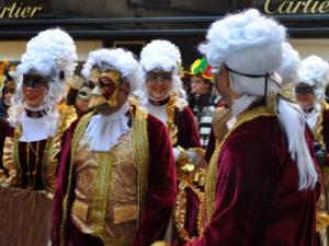 Storia del Carnevale di Venezia. Costumi del 700`