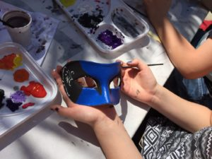 Mask making in Venice photo