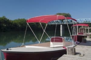 noleggio barche sostenibili fiume Piave