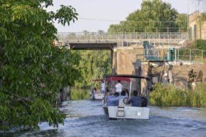 navigazione fluviale parco san dona di Piave