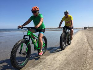 Lido di Venezia: Tour in Fat Bike in Spiaggia