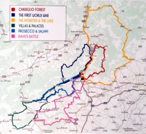 Noleggio Vespa: Itinerari in Veneto