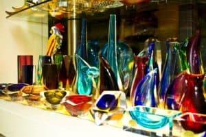 Murano glass vases photo