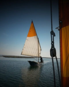sail in the lagoon