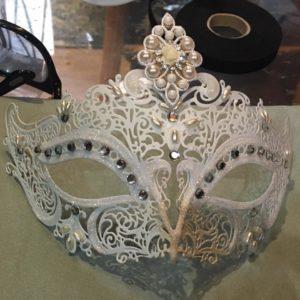 venice mask painting photo