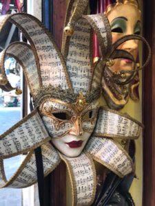 Decorative Carnival Mask Venice photo