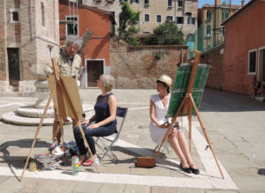 Painting Workshop Venice Italy photo