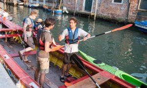 venezia guida per kayak