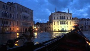 night gondola venice tour photo