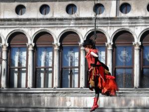 Венецианский карнавал. Традиции. Полет Ангела