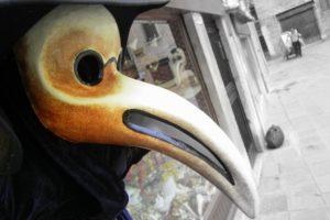 Covid 2021 Venice Carnival mask