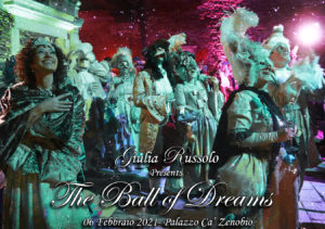 Masked ball Venice Carnival 2021