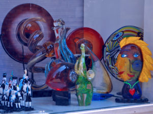 murano island glass objects photo