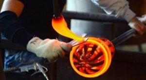 Glass art workshop Murano photo