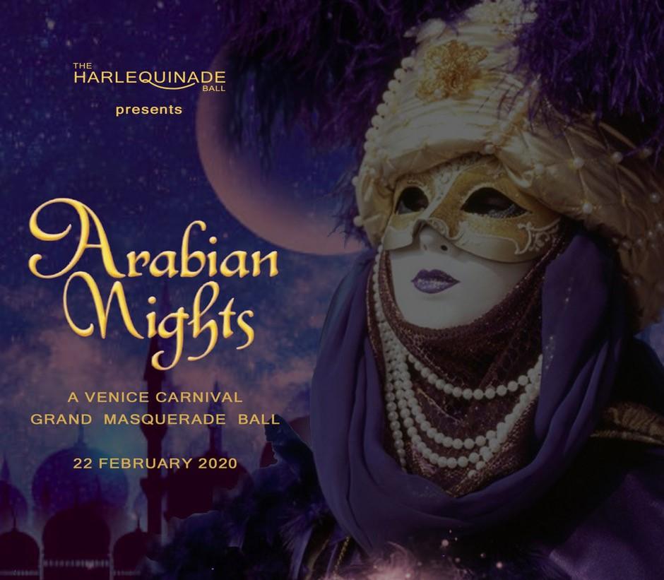 Arabian nights invitation photo