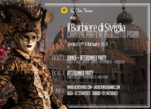 The barber of Seville Venice Carnival tickets
